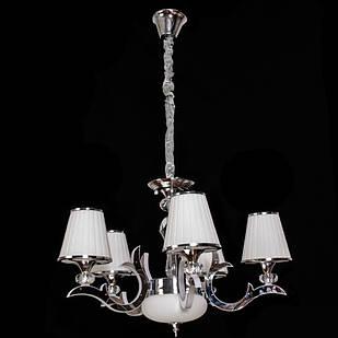 Современная классическая люстра на 5 лампочек СветМира с LED подсветкой рожков  D-9430/5