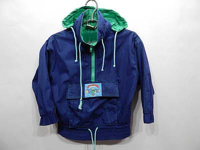 Куртка -ветровка (анорак) с капюшоном на подкладке   р.30-34,рост 110-116, 022д