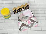 Хлопковая косынка размер 38 - 40 см , фото 2