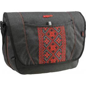 02a25a28e45c Спортивные и подростковые качественные тканевые сумки через плечо Kite