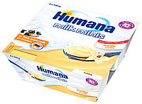 Пудинг Baby Pudding Vanille Ваниль 4 х 100 г Humana Германия 78447
