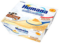 Пудинг манный с печеньем Baby Griessbrei Keks 4 х 100 г Humana Германия 78443