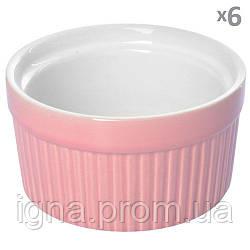 Кокотница керамика 6шт/наб 9*9*5см 10266 (20наб)