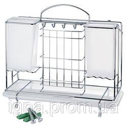 Органайзер-сушка кухонный 35.5*15*32см MH-0532 (12шт)