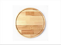 Доска разделочная круглая деревянная,бук (Ø 35 см.)
