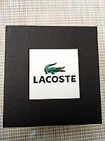 Подарочная упаковка - коробка для часов,  LaCoste (Лакост), черный с белым