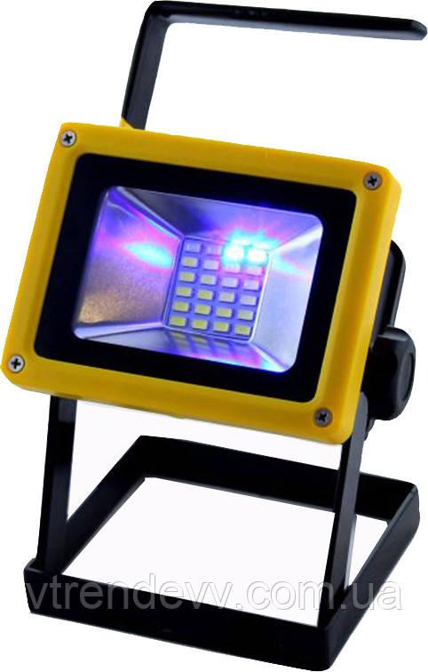 Прожектор фонарь светодиодный на аккумуляторах Flood Light Outdoor BL-204 LED 30W