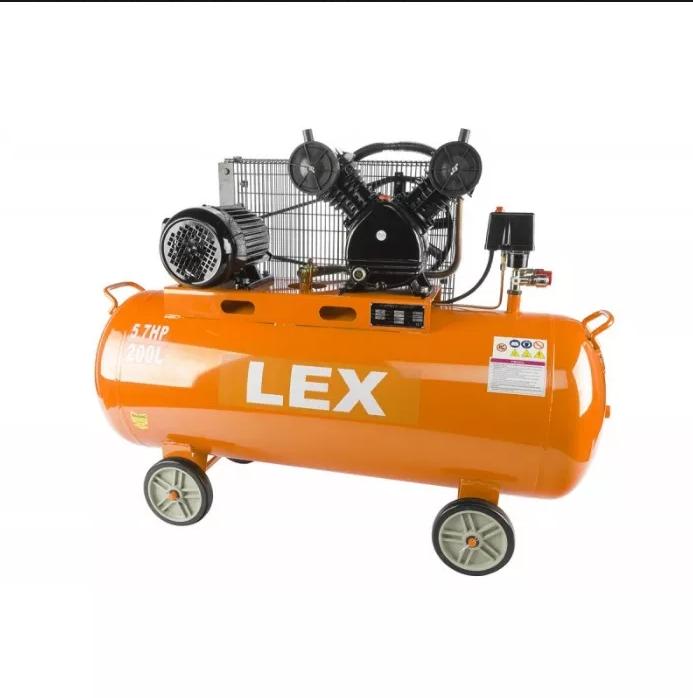 Компрессор с ресивером LEX AG200 компресор, 200 литров(поршневый масляный)