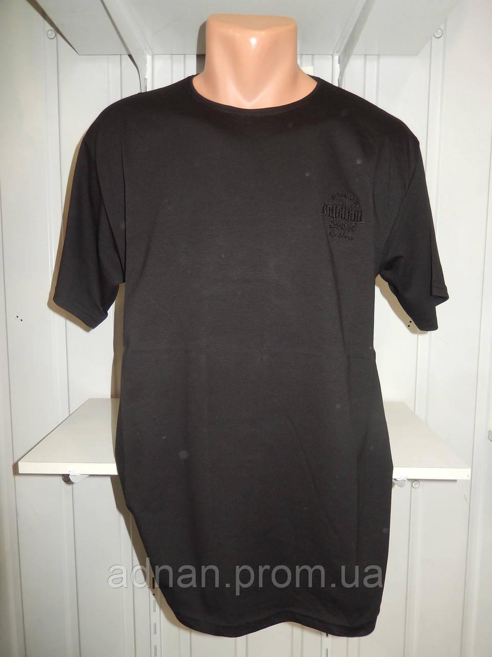Футболка мужская батал RBS ORIGINAL стрейч коттон  003 \ купить футболку мужскую оптом