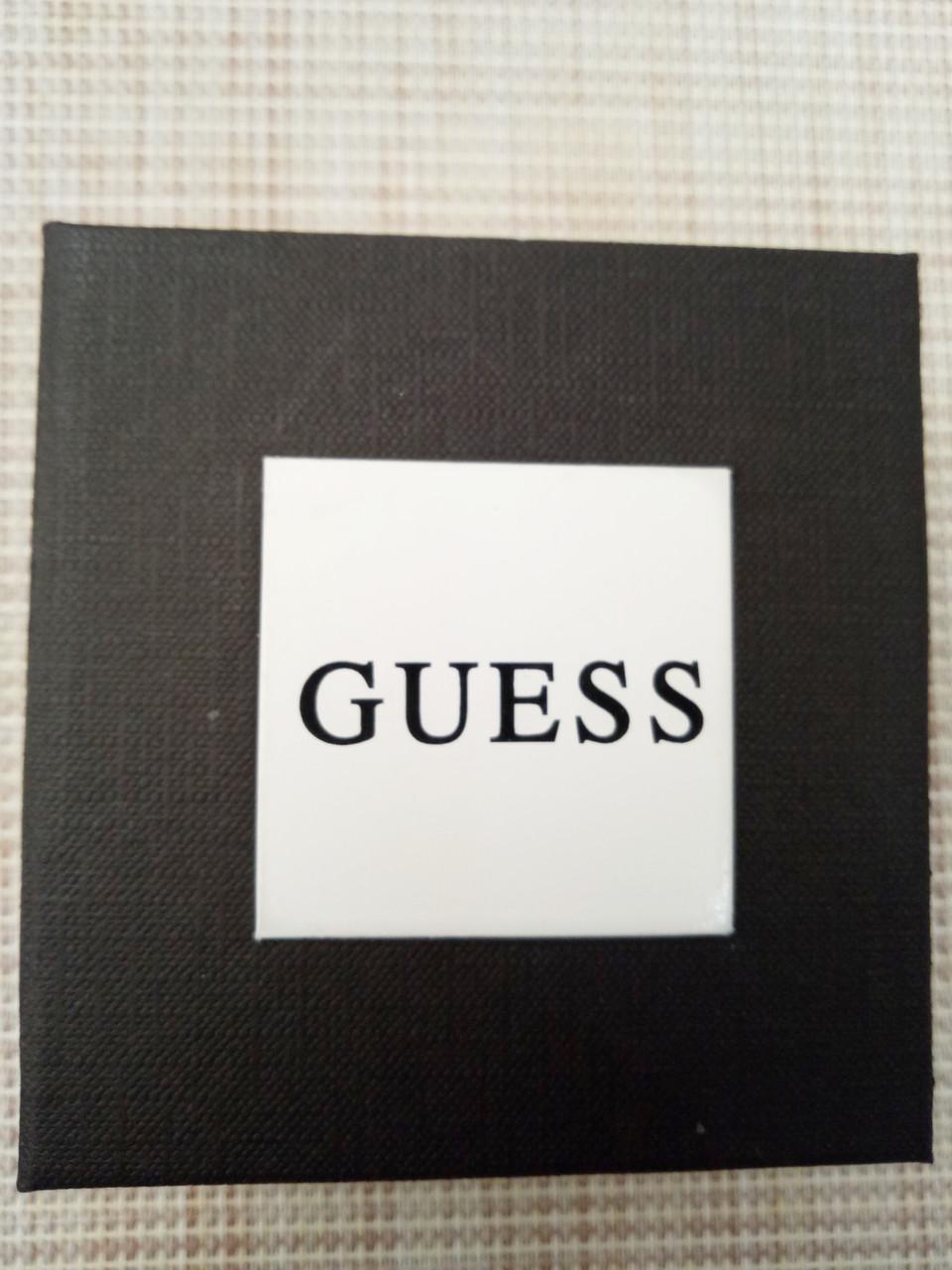 Подарочная упаковка - коробка для часов, Guess (Гесс), черный с белым ( код: IBW108-5 )