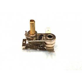 Терморегулятор биметаллический KST118 (MINJIA) / контакты по бокам, гнутые вверх / 3 изоляции