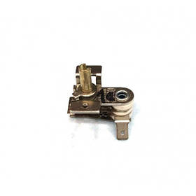 Терморегулятор биметаллический KST118 (MINJIA) / контакты согнуты вниз / с ушами / 3 изоляции