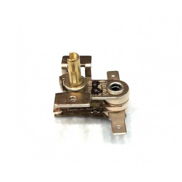Терморегулятор биметаллический KST118 (MINJIA) / контакты по бокам / с ушами / 3 изоляции / под клемму