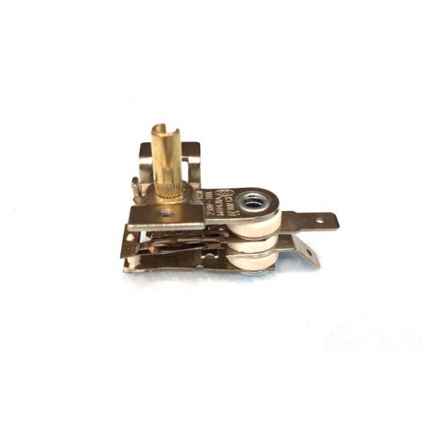 Терморегулятор биметаллический KST118 (MINJIA) / контакты смотрят прямо / с ушами / 3 изоляции