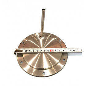 Дисковый тэн для чайника 1200W / ø143мм / 220V с трубкой под 6 отверстий