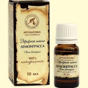 Масло лемонграсса (10мл.,Украина)