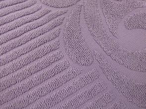 Махровая простынь Gulcan 190х220 Сирень, фото 2
