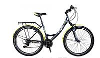 """Велосипед женский  Titan Elite 17"""" 26"""" Black/Neon-Yellow/White"""