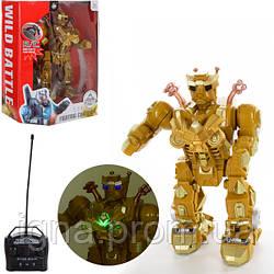 Робот 2028-26+B (18шт) р/у,28см,муз,звук,свет,ходит,танцует,оружие,на бат-ке,в кор-ке,30-35-16см