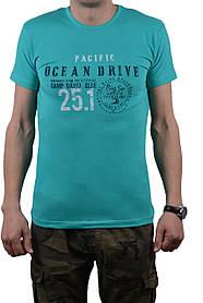 "Футболка мужская ""OCEAN DRIVE"" 46-48 (AT107/M/Mint) | 1 шт."