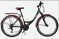 """Велосипед женский  Titan Elite  26""""  Black/Red"""
