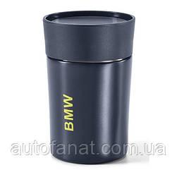 Оригинальная термокружка BMW Active Thermal Mug, Blue Nights / Wild Lime (80282461018)