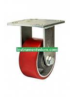 Колесо 570100 с неповоротным кронштейном (диаметр 100 мм)