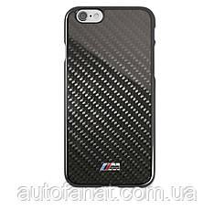 Оригинальный карбоновый чехол BMW M для iPhone 6 Plus, Hard Case, Black (80212413762)