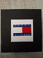 Подарочная упаковка - коробка для часов Tommy Hilfiger (Томми Хилфигер), черный с белым