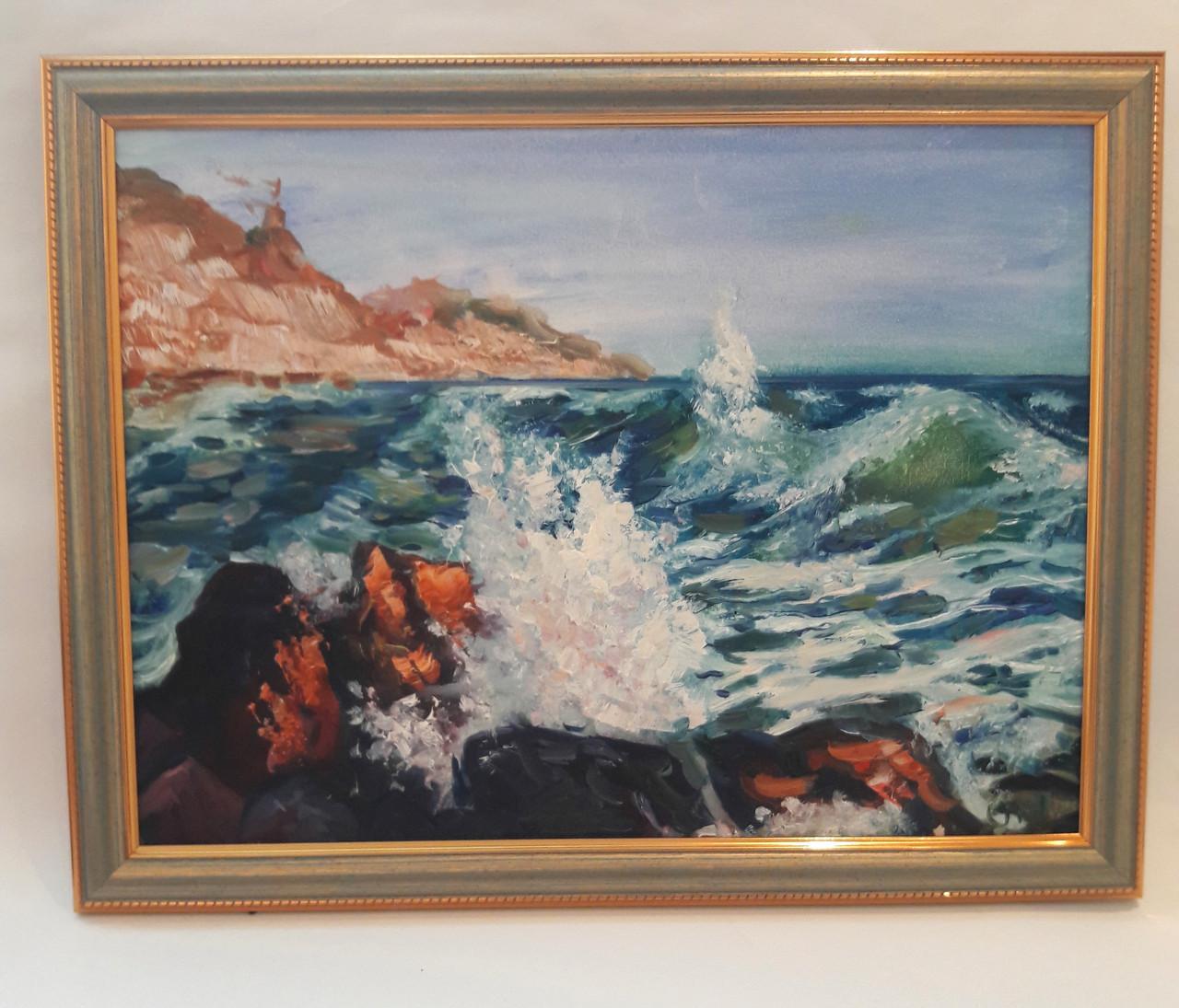 Картина масло Чарующее море