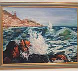 Картина масло Чарующее море, фото 2