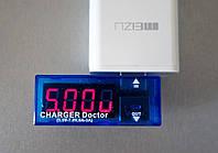 USB тестер (мультиметр) потребляемого напряжения