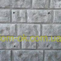 Термопанели фасадные на основе пенополистерола , фактура Луганский камень, толщина 100 мм