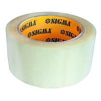 Скотч упаковочный прозрачный 45ммх50м Sigma (8401221)