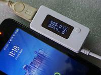 USB тестер тока, напряжения, потребляемой энергии - модель KCX-017