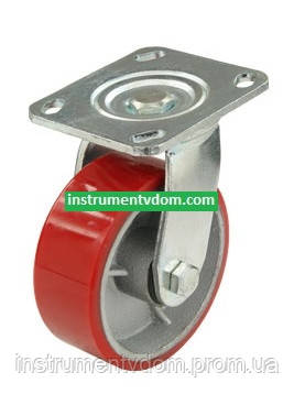 Колесо 580125 с поворотным кронштейном (диаметр 125 мм)