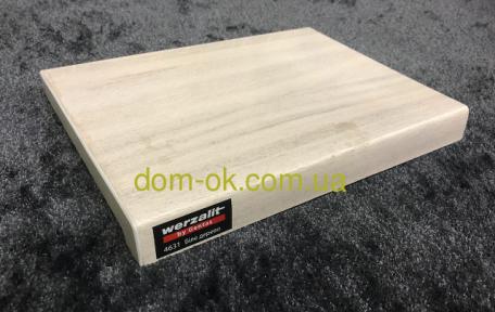 Верзалит- Werzalit (Турция)подоконник деревянный цвет 4631  Белое дерево ширина 250 мм