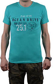 "Футболка мужская ""OCEAN DRIVE"" 50-52 (AT107/XL/Mint)   1 шт."