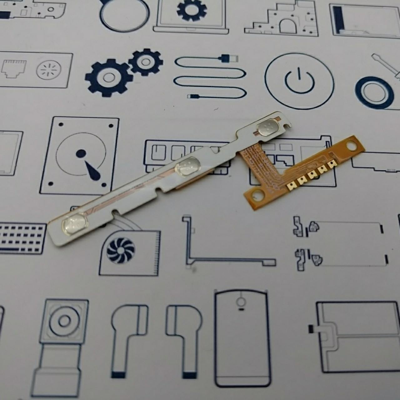Шлейф кнопок Lenovo A5500 Сервисный оригинал