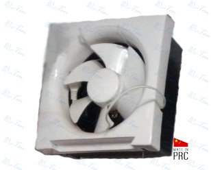 Оконный вытяжной вентилятор для форточки, 220В (Китай)