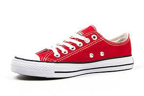 Мужские кеды Converse All Star red line