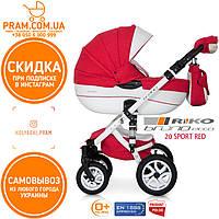 RIKO BRANO ECCO универсальная коляска 2 в 1 20 Sport Red Красный
