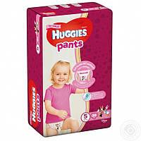 Подгузники-трусики для девочек Huggies Pants 5 (12-17 кг) 34 шт