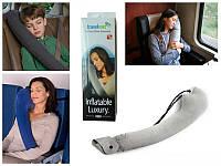Дорожная надувная подушка TravelRest Inflatable Luxury Travel Pillow (Тревел Рест)