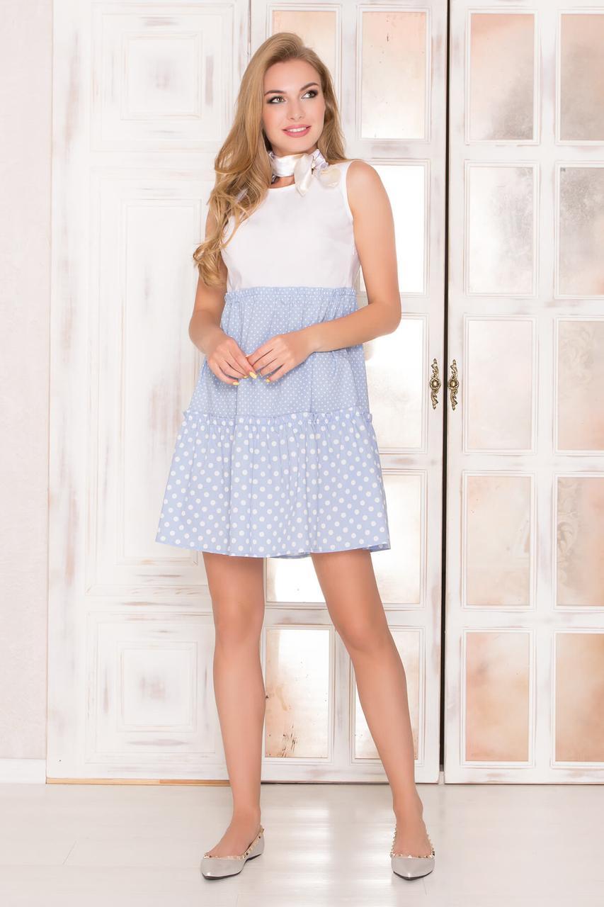 358d03ac2ce29b Жіноче повсякденне плаття, кольору джинс, у горошок, літнє, святкове,  молодіжне,