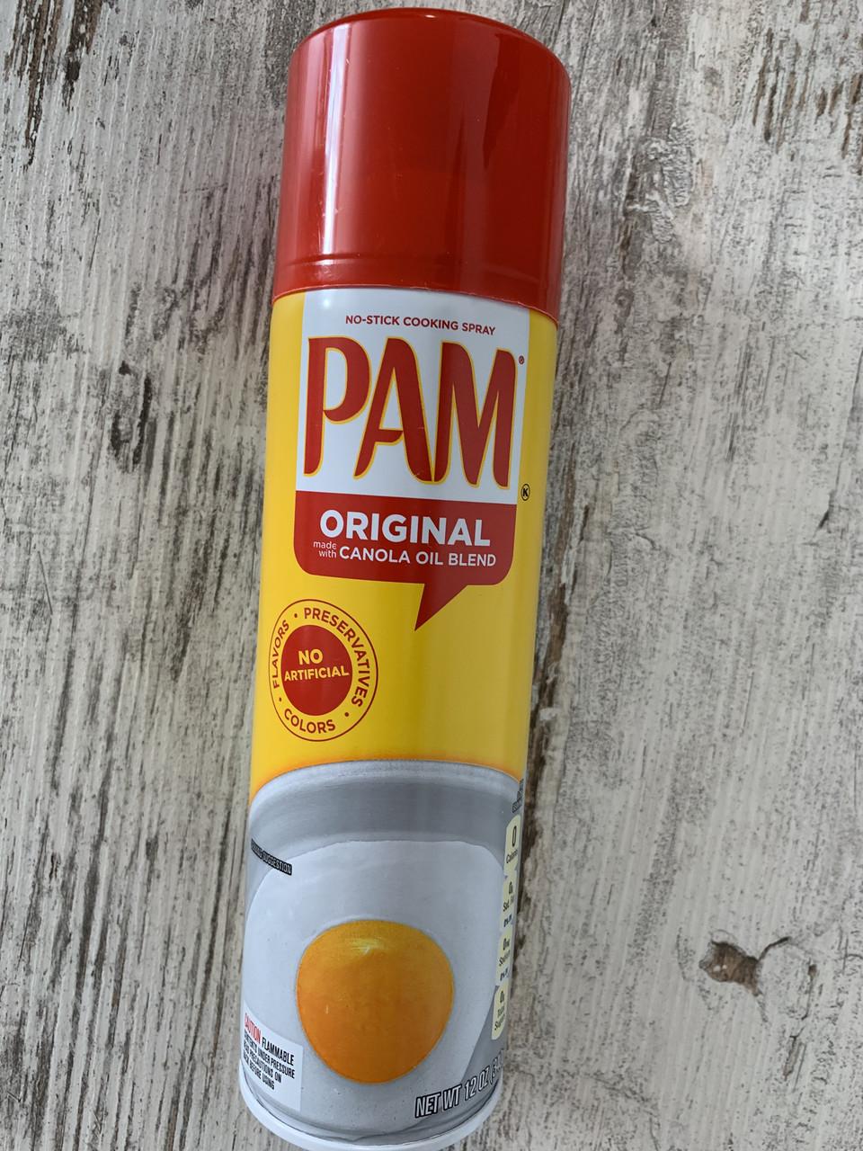 Распыляющее масло для не пригорания еды PAM Original