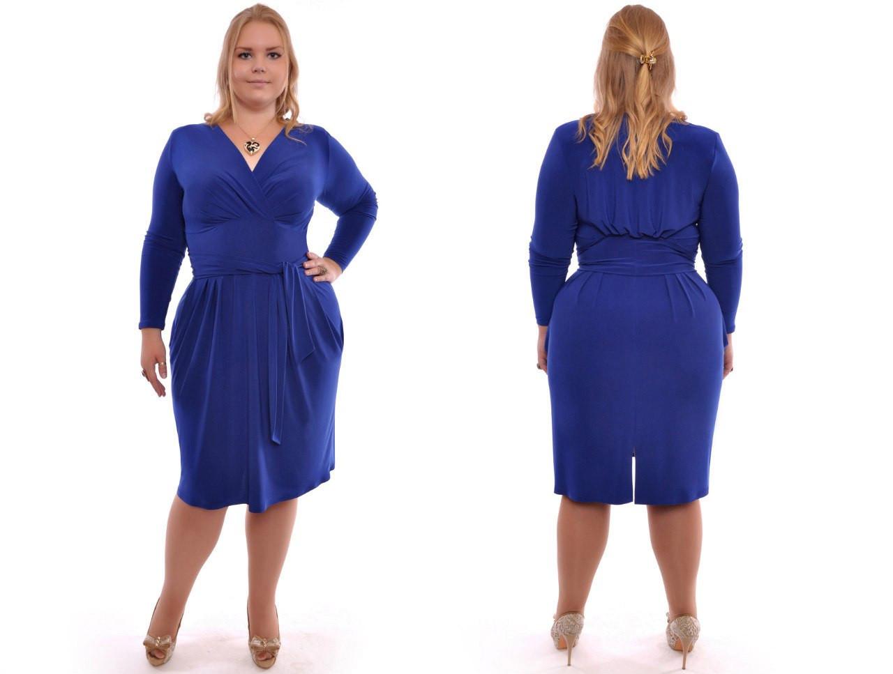 ae511106496 Женское красивое платье больших размеров №314 48-62 р