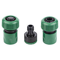 Набор коннекторов ½˝+ адаптер в/р ½˝×¾˝ для шланга ¾˝ Grad (5016165)