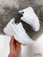 Кроссовки Nike Air Max 270 белые. Аналог, фото 1