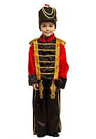 Детский карнавальный костюм для мальчика Гусар (оловянный солдатик)